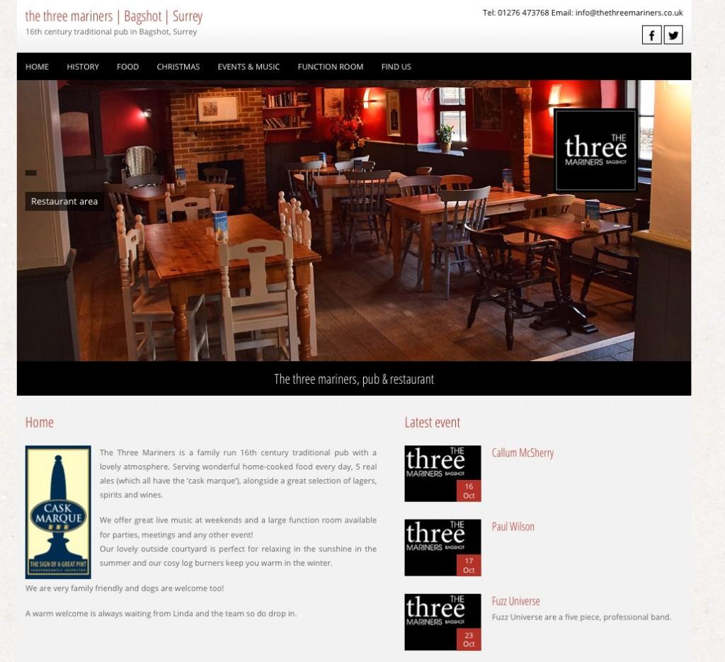 The Three Mariners Pub, Bagshot